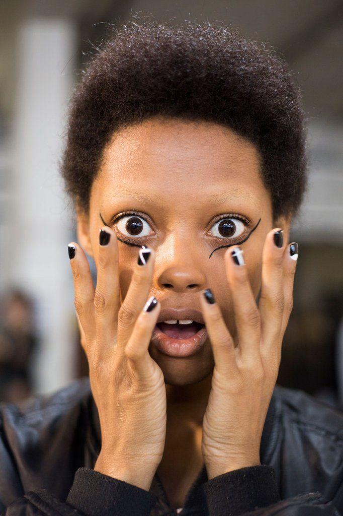 Giamba Fall 2016 | Fall fashion week, Nail trends and Beauty nails