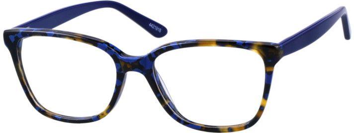 d38f645fce1 Blue Square Glasses 4421916