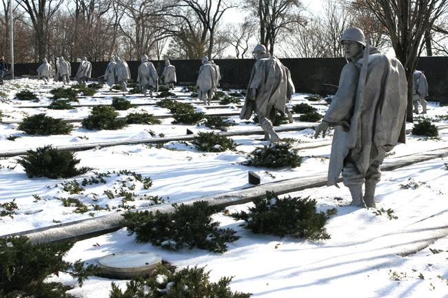 Korean War Veterans Memorial Photos And Tours Washington Dc