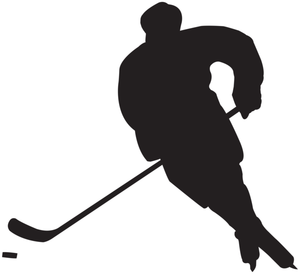 Hockey Player Silhouette Png Clip Art In 2020 Silhouette Png Silhouette Clip Art Silhouette