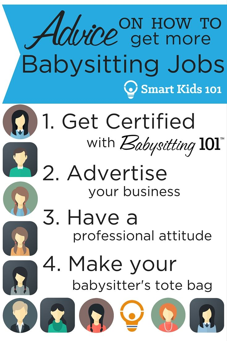 Advice On How To Get More Babysitting Jobs Babysitting Jobs