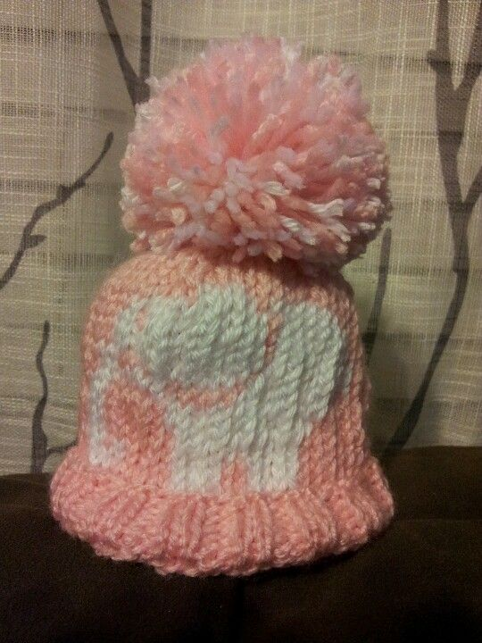 Baby elephant knit hat | Knitting, Knitted hats, Baby elephant