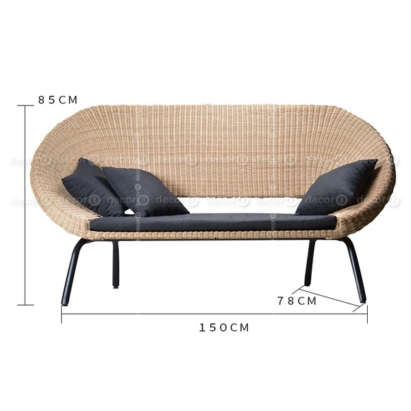 Outdoor Furniture Hong Kong Luxury Outdoor Armchair Leno Woven Outdoor Sofa And Lounge Two Seater Decor8 F In 2020 Outdoor Armchair Outdoor Sofa Furniture Outlet