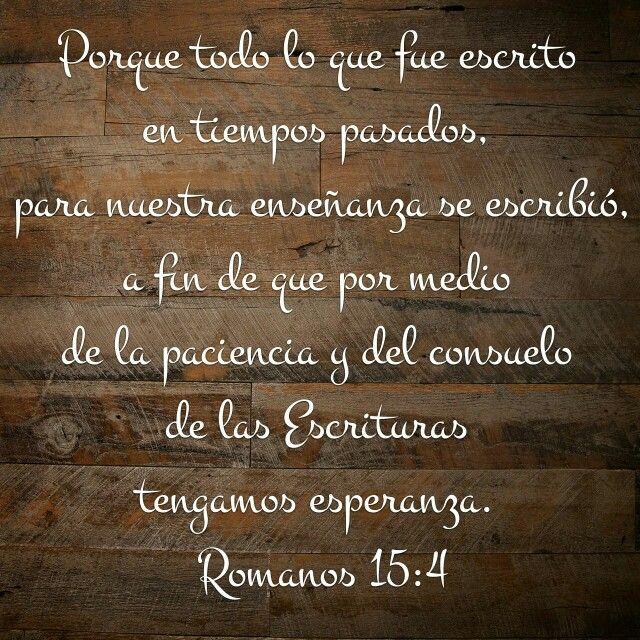 Esperanza Paciencia Y Consuelo Rom 154 Frases En