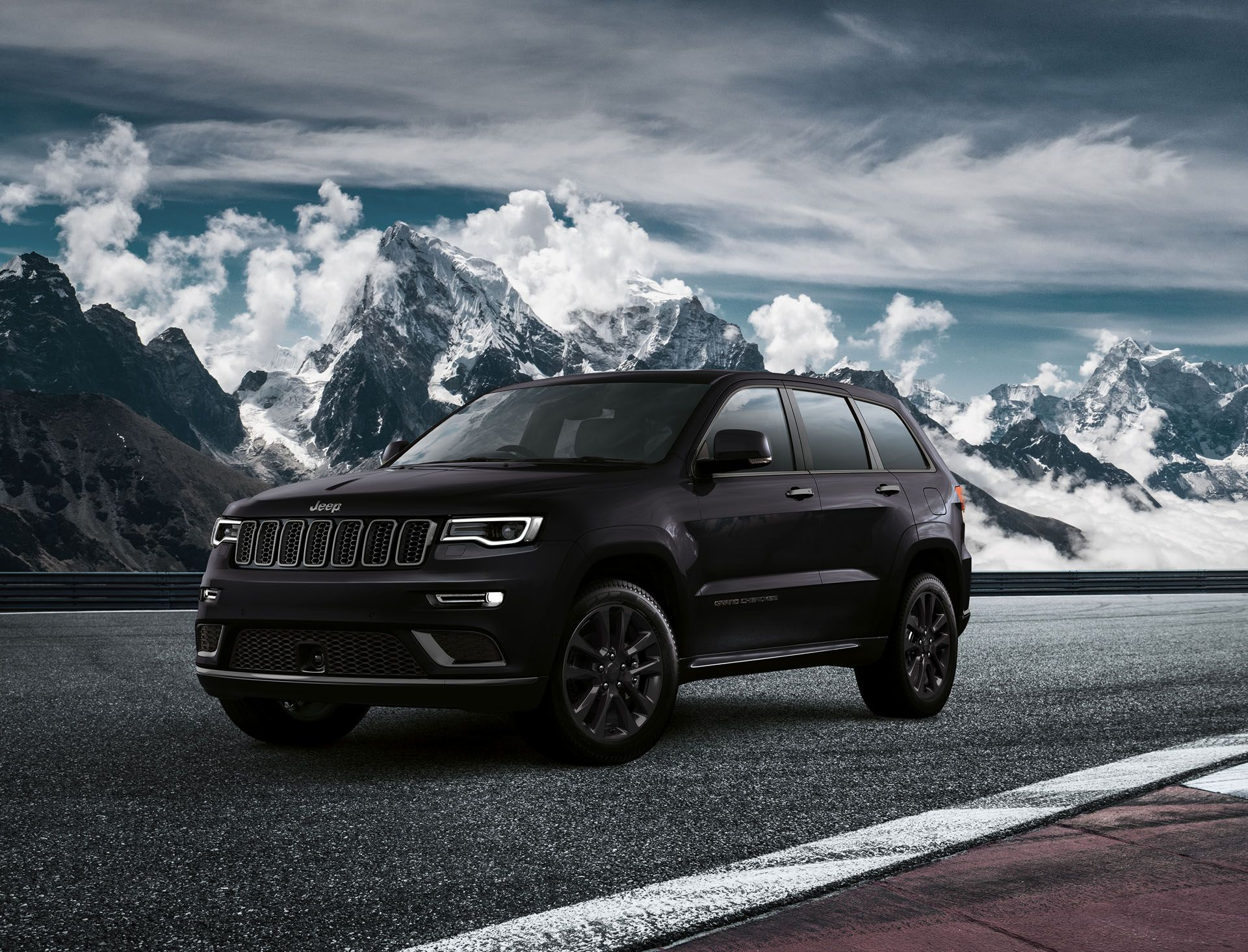 Jeep Grand Cherokee S Launches In Europe All Blacked Out Jeep Grand Cherokee Jeep Grand Jeep