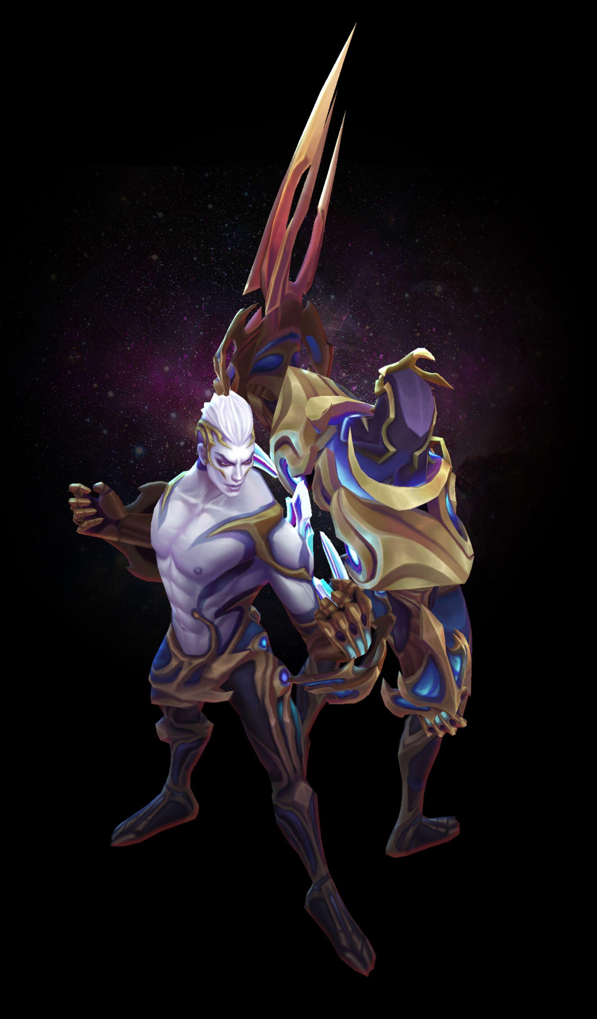 Artstation Galaxy Slayer Zed Duy Khanh Nguyen Lol League Of Legends League Of Legends Game League Of Legends Characters
