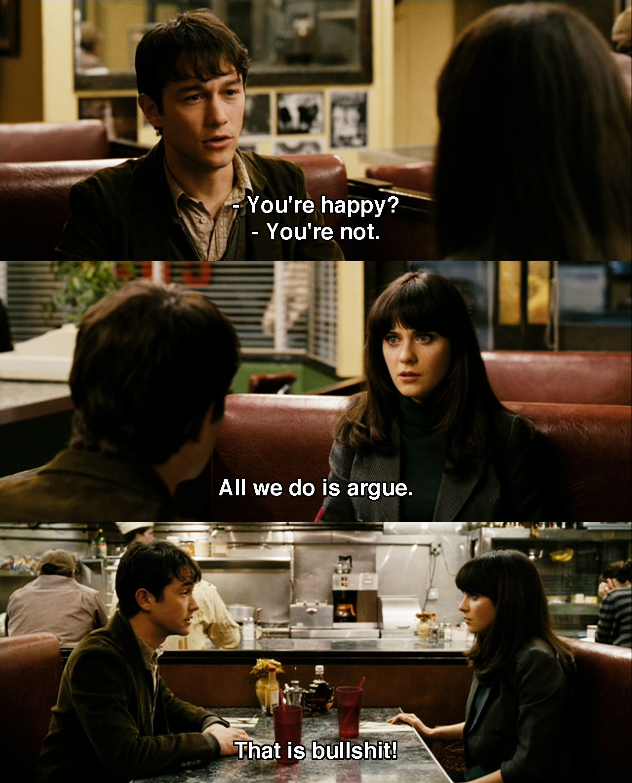 You Re Happy 500 Days Of Summer 2009 Movie Quotes