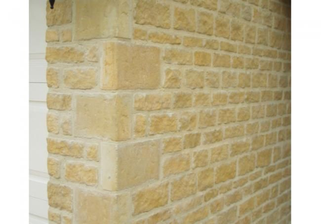 Bradstone Rough Dressed Walling Has Been Developed To Provide The Authentic Appearance Of Roughly Dressed Natural Stone And Walling Stone Wall Bradstone Paving