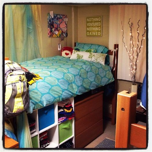 Roommate Apartment: Appalachian State University. I Want My Dorm Room To Look