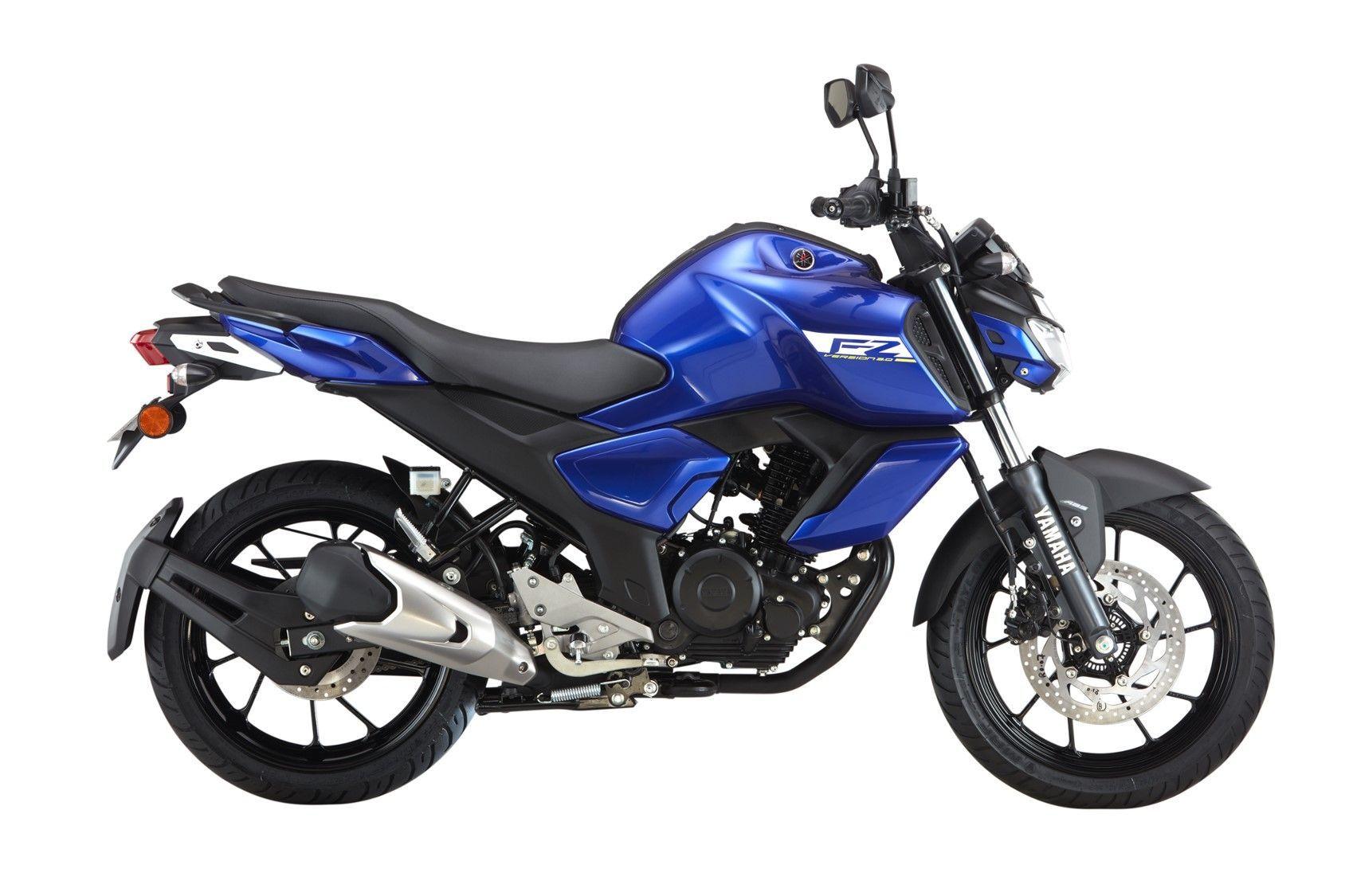 2019 Yamaha Fz V3 0 Colors Metric Black Racing Blue Fi Abs