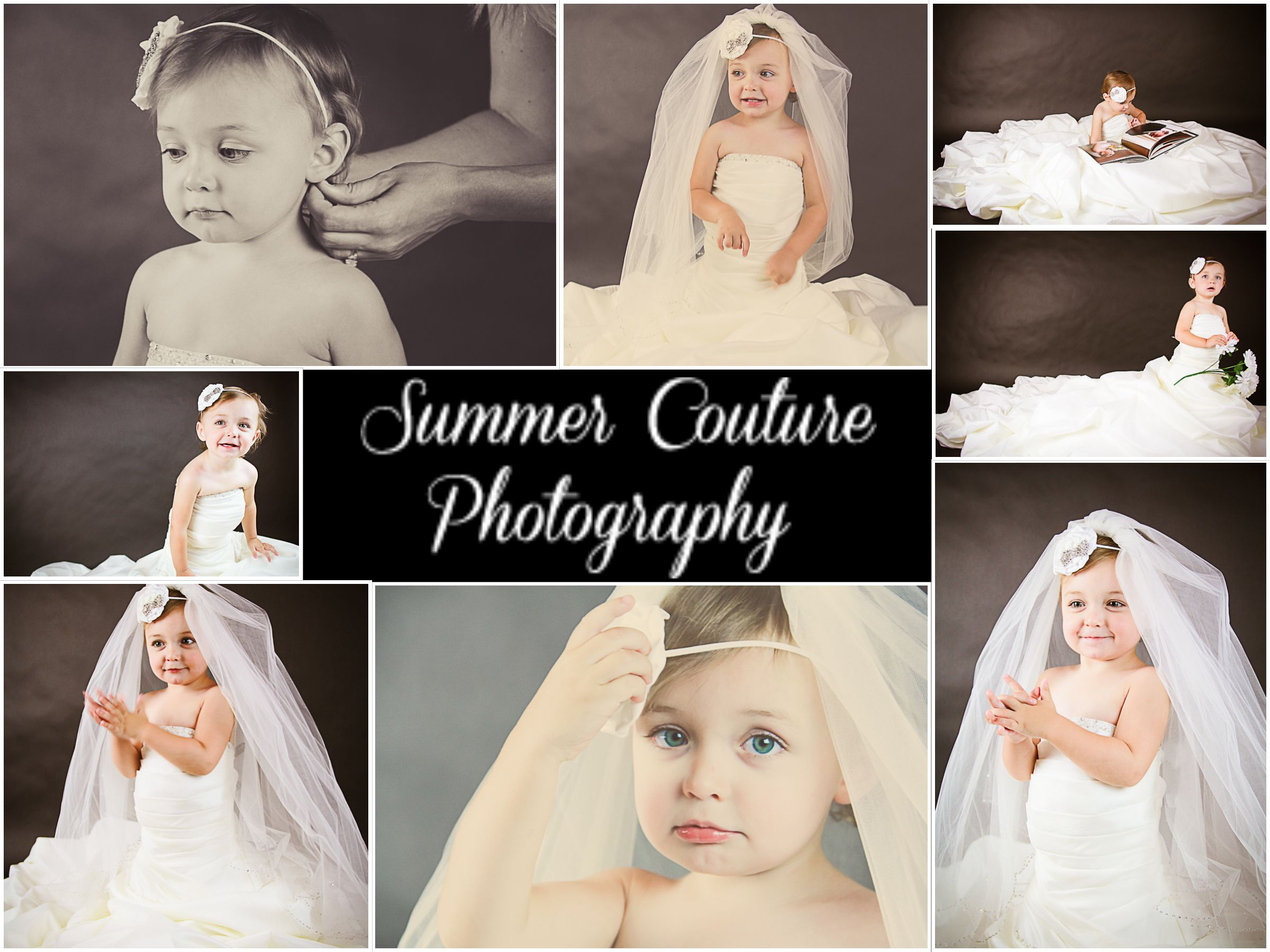 mom's wedding dress Daughter in mom s wedding dress photo shoot wedding keepsake s little girl in mom s wedding