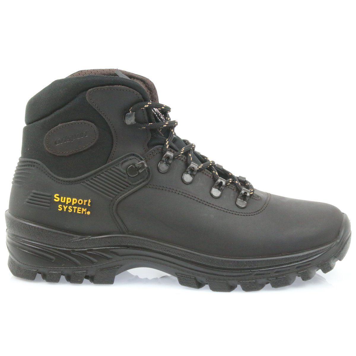 Grisport Buty Trekkingowe Czarne Hiking Boots Shoes Boots