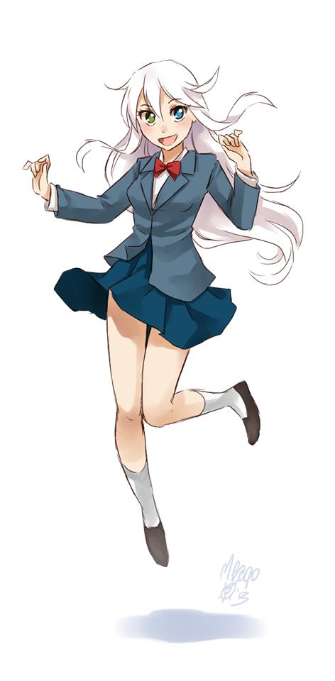 Kida By Meago On Deviantart Manga Poses Anime Female Anime Hairstyles