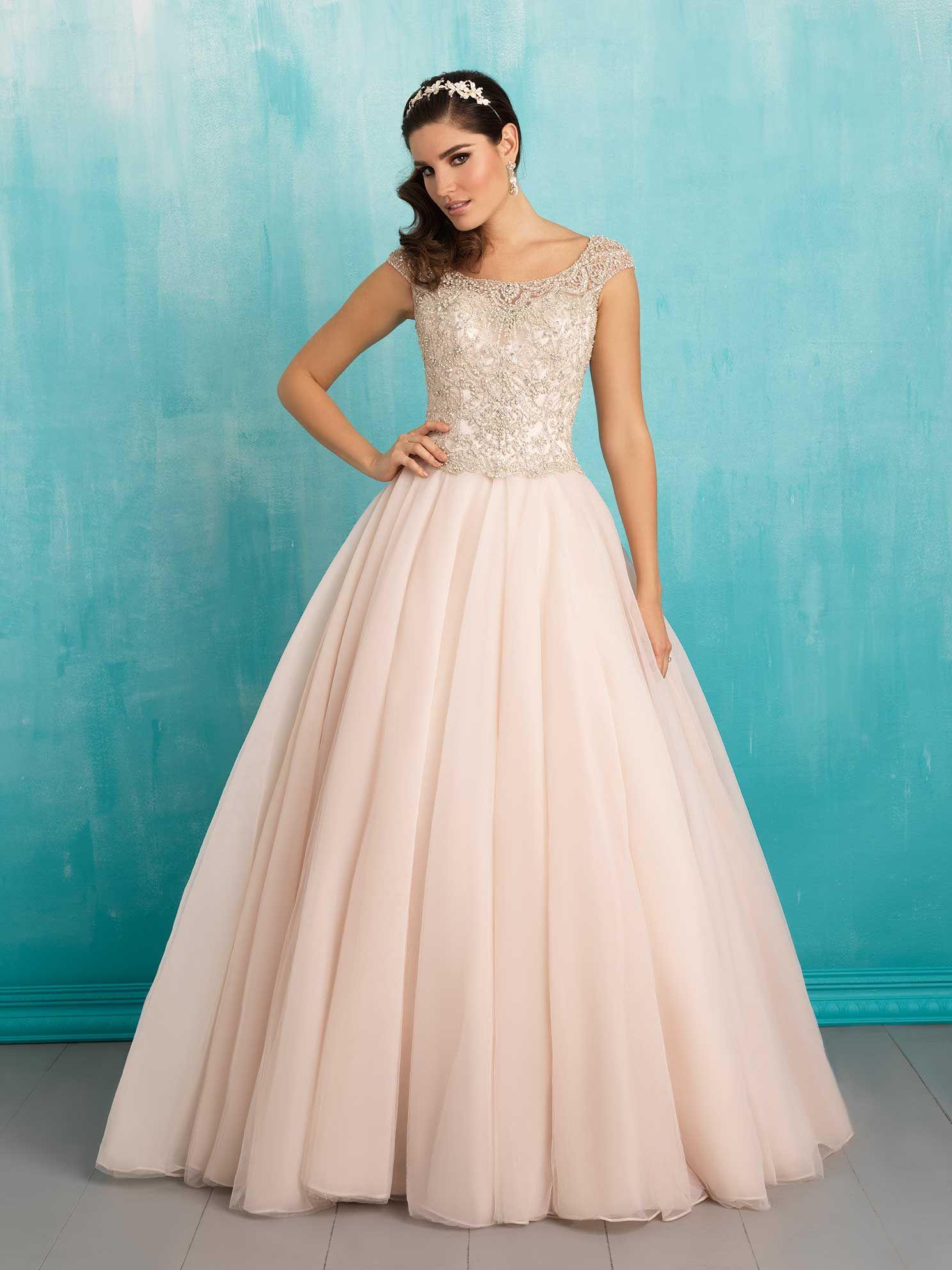 Vestidos para novia - La mejor selección en color | Tul, Falda y Novios