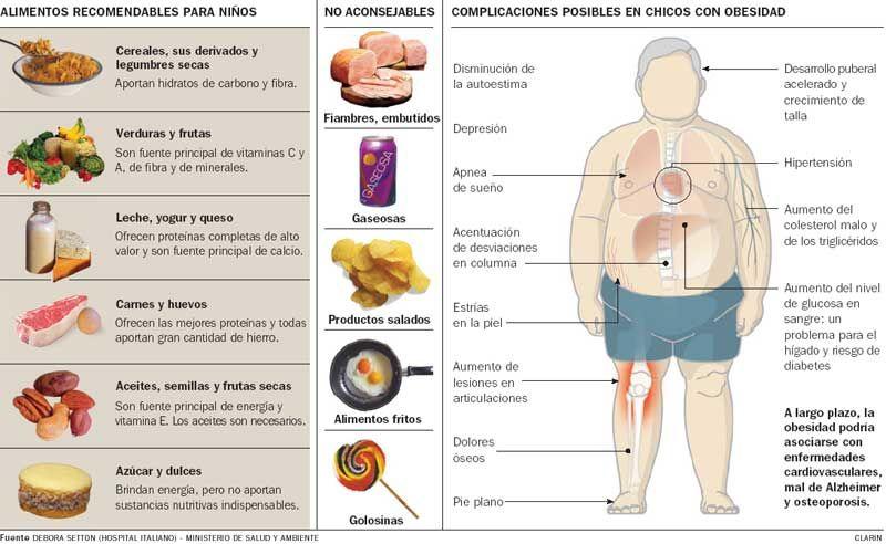 Alimentos saludables para obesos