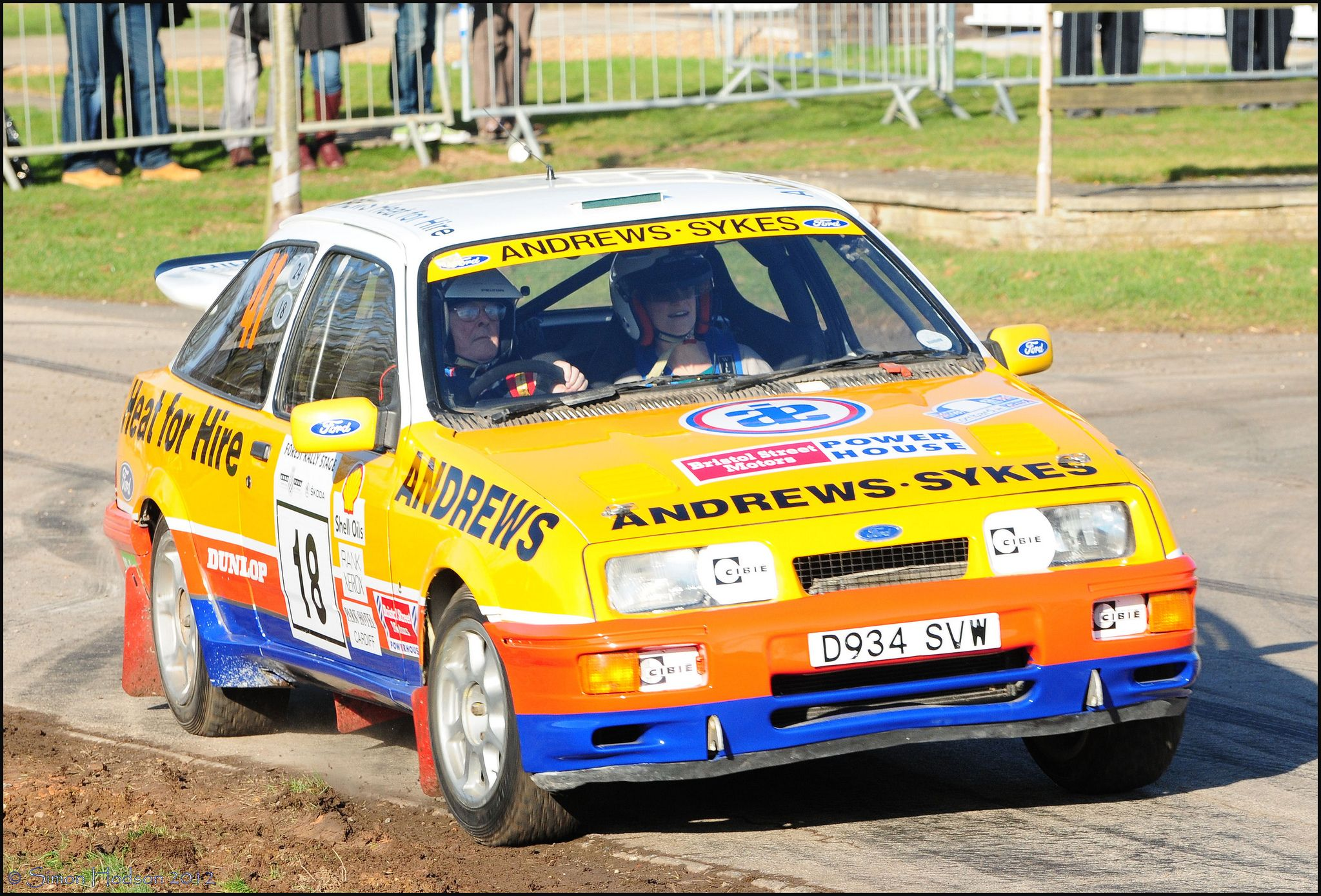 Race Retro 2012 Ford Sierra Rs Cosworth Avec Images Flic