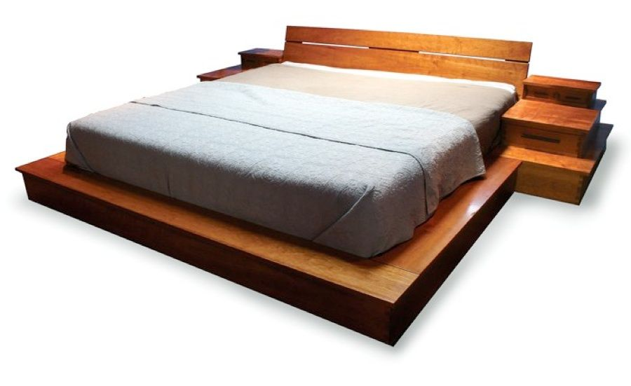 how to build a king size platform bed frame