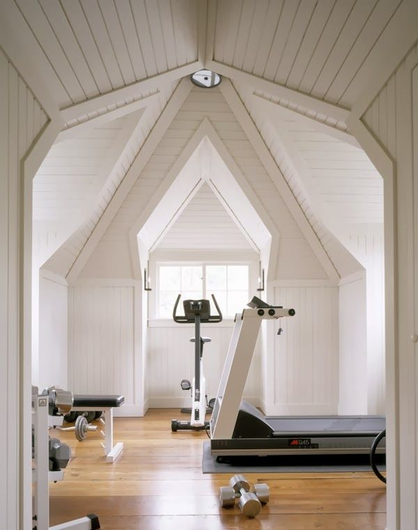 Things We Love: Fitness Rooms | Fitness rooms, Gym and Room