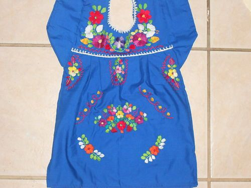 12 -18 months mexican dress w/ embroidery infant bn   eBay