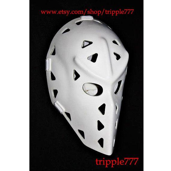 Hockey mask, Hockey goalie, NHL ice hockey, Roller Hockey, Hockey goalie mask, Hockey helmet - Mike Liut mask HO01