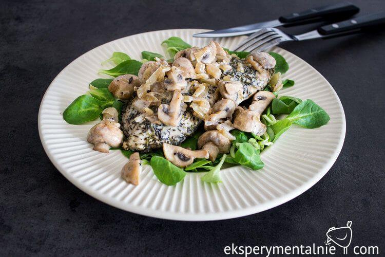 Kurczak W Sosie Pieczarkowym Na Obiad Kurczak Pieczony Mushroom