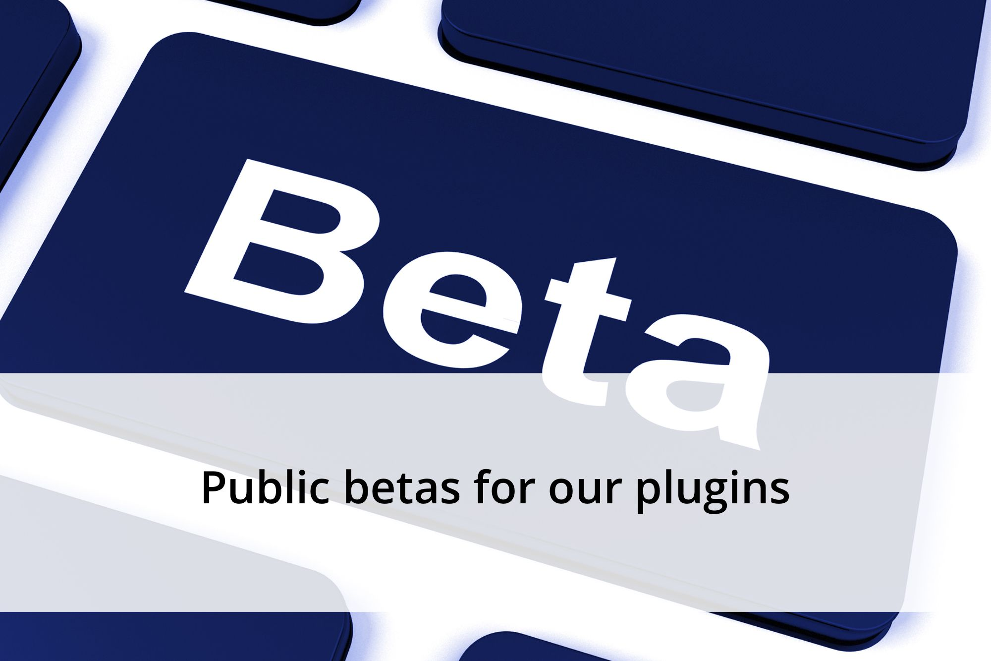 Over the last few months we've been working hard on improving how we build and test our plugins. We're writing more and more unit tests and are trying to prevent issues from popping up. There's one recurring issue though: we can't test everything. Hosting environments vary so much that we have decided to do more public…  https://yoast.com/public-betas-plugins/