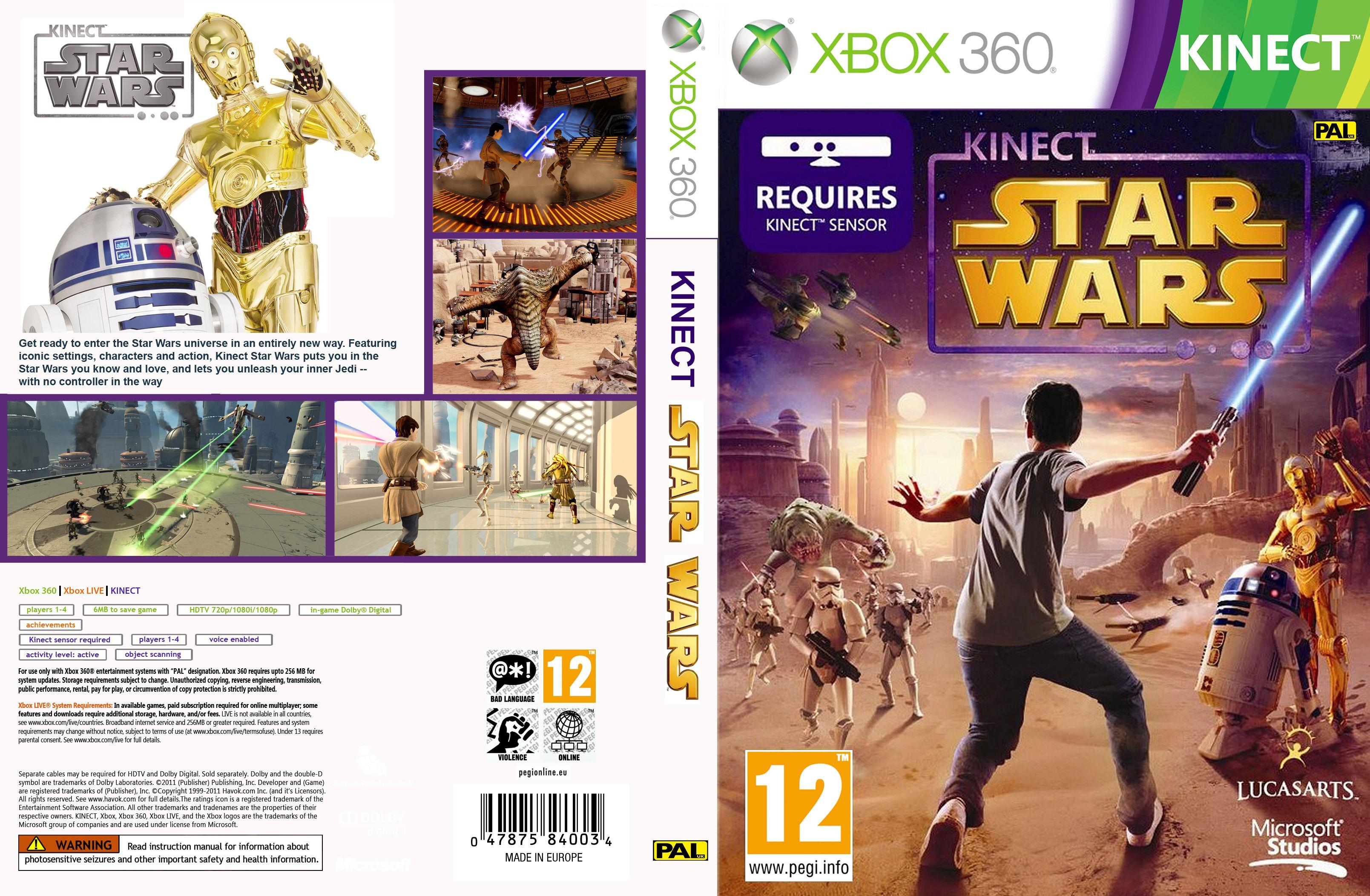 Xbox 360 Kinect Star Wars Star Wars Xbox Xbox 360 Star Wars