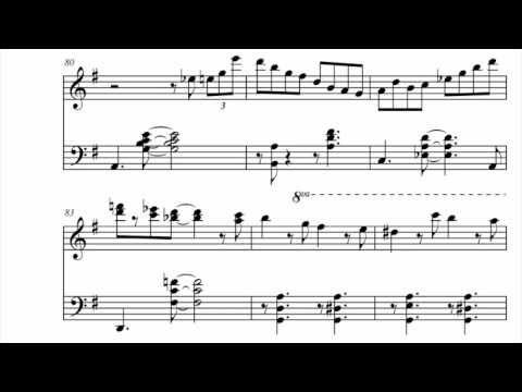 Jazzy Piano Jingle Bells w sheet music - YouTube