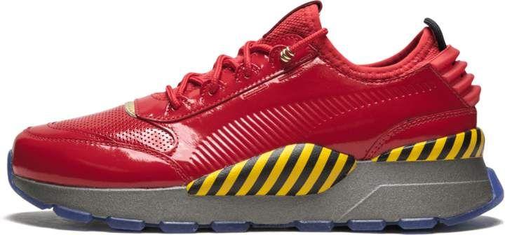 The SEGA x Puma 'Sonic' and 'Dr. Eggman' Sneakers #footwear