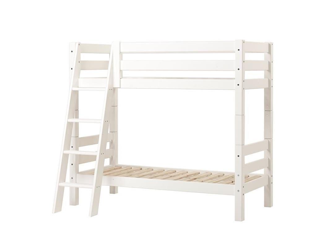 Etagenbett Trennbar : Hoppekids premium etagenbett mit schräger leiter und lattenrost