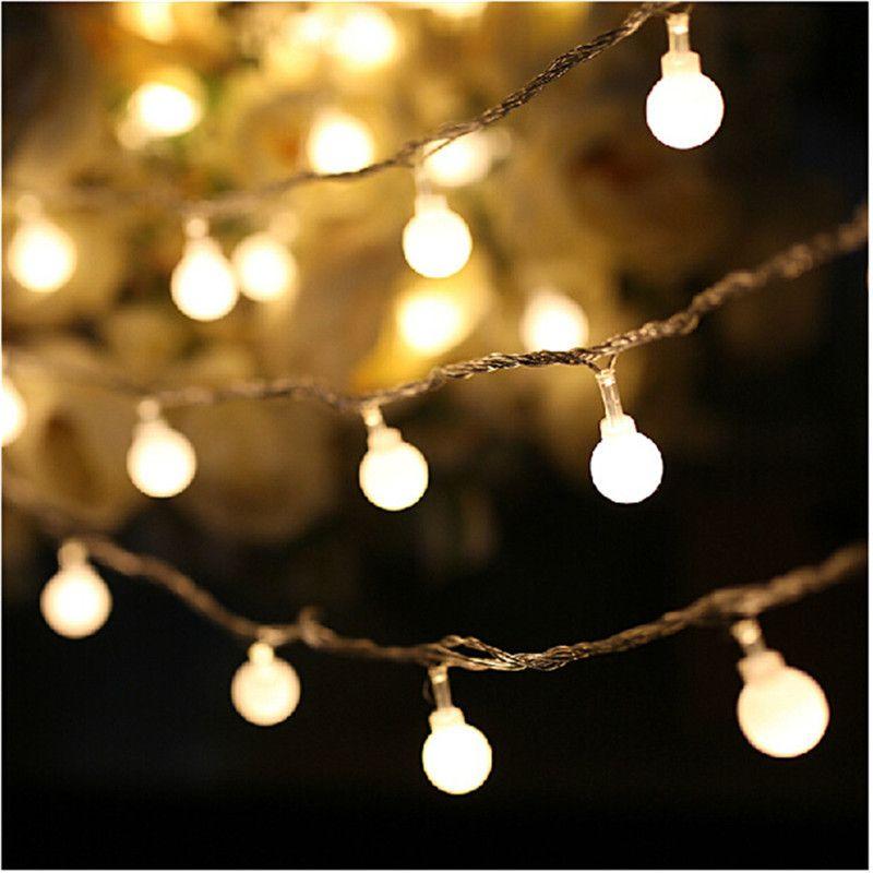 Decorative Light Balls Luminaria 50 Led Cherry Balls Fairy String Decorative Lights
