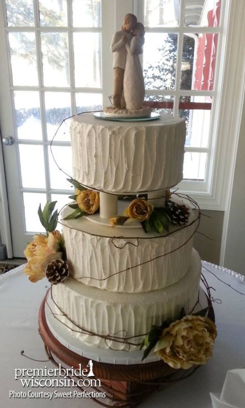 Sweet Perfections Autumn Wedding Cakes 5
