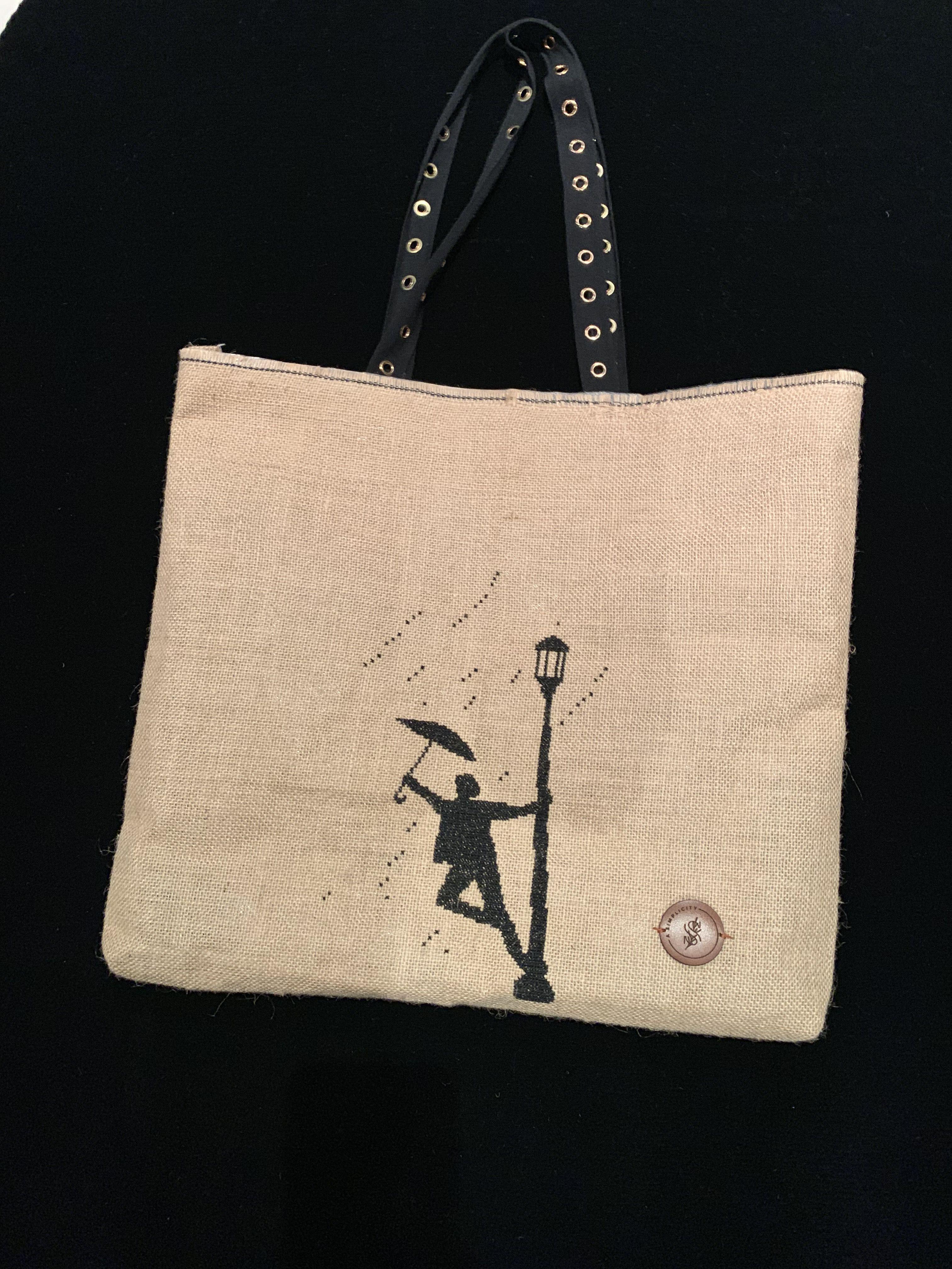 Download Pin By Alba Viana Macedo On Ecobags Burlap Bag Bags Tote