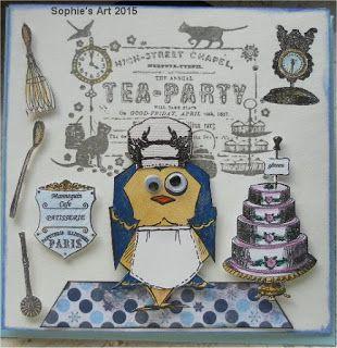 Sophie's Art: Tea - Party