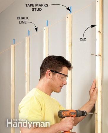 garage storage solutions: one-weekend wall of storage | garage
