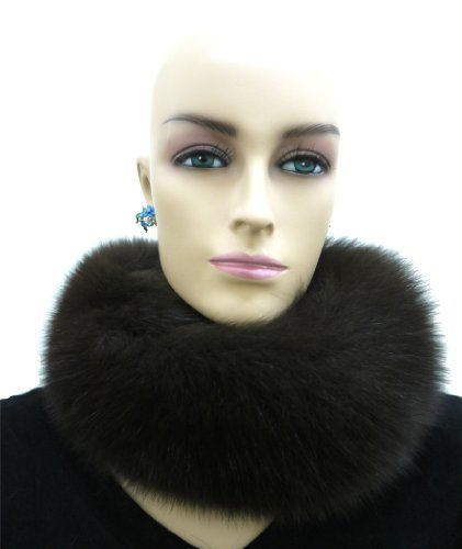 100% Fox Full Fur Multi-Function Neck Warmer/Headband Ships From New York City Fur District. Handmade. Premium Quality and Superior Craftmanship. Factory Direct Wholesale Price. Hassel-free Return and Exchange Policy.