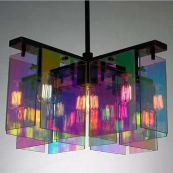 Really Looking For A Chandelier Made With Similar Material But