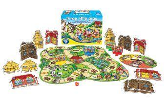 Orchard Toys Juego De Mesa De Los Tres Cerditos Amazon Es