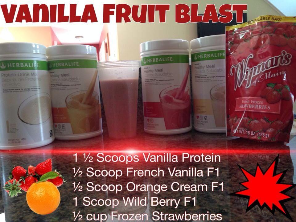Herbalife Shakes Recipes Wild Berry Dandk Organizer