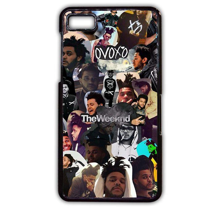 Drake X The Weeknd Collage Cool TATUM-3708 Blackberry Phonecase Cover For Blackberry Q10, Blackberry Z10