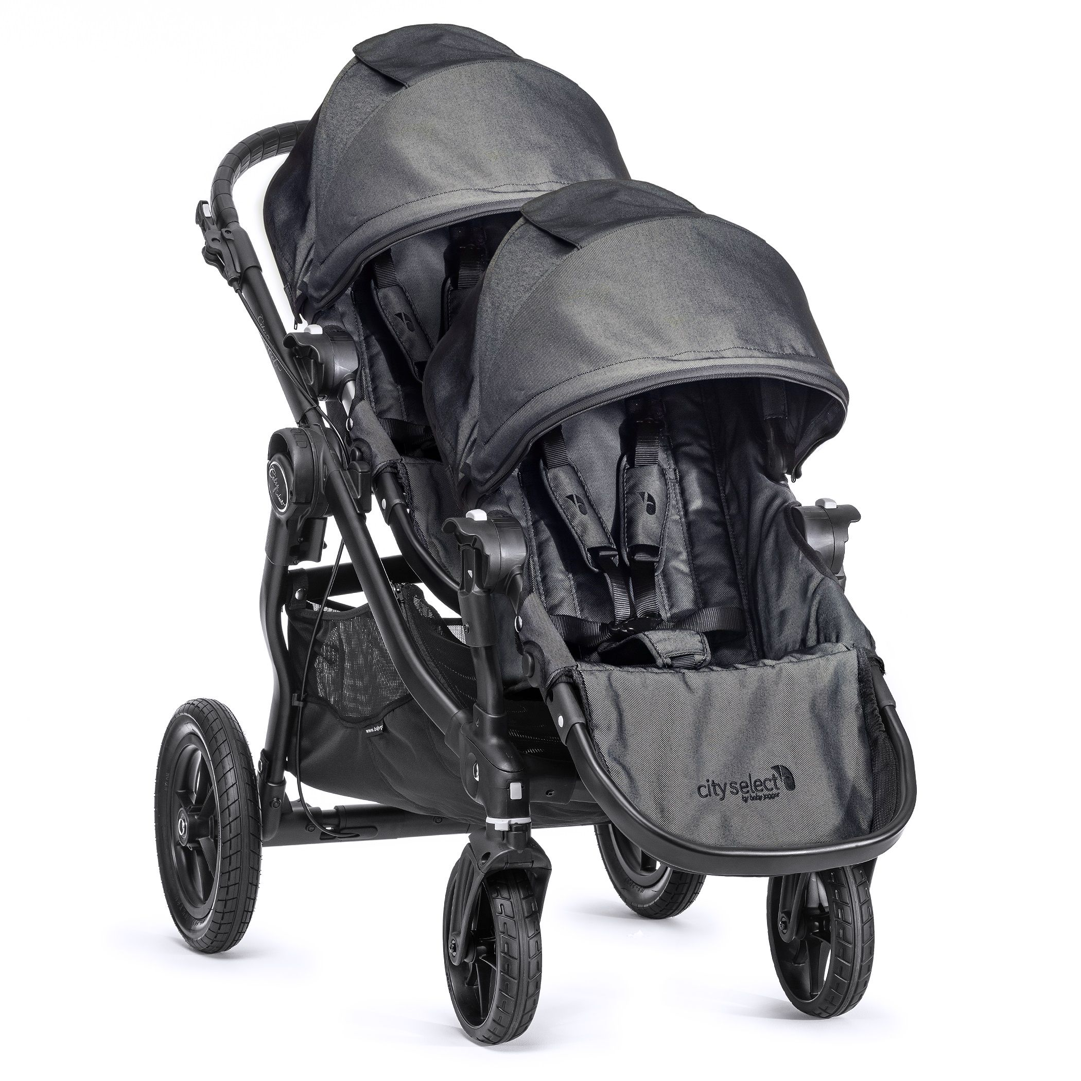 Baby Jogger City Select 2nd Seat Charcoal Baby Jogger City Select Baby Jogger City Select Double City Select Double Stroller
