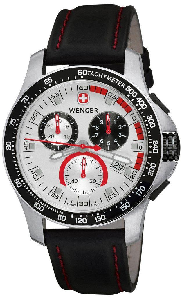 c0c1dd8dcd8 Wenger 70791 Battalion Field Chrono Watch