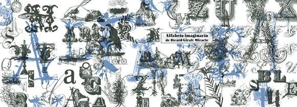 Andreu Balius nos presenta el Alfabeto imaginario de Ricard Giralt-Miracle