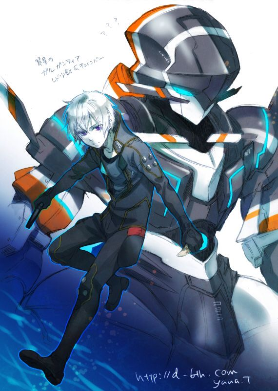 Gargantia on the Verdurous Planet / Suisei no Gargantia (翠星のガルガンティア) - Ledo & Chamber
