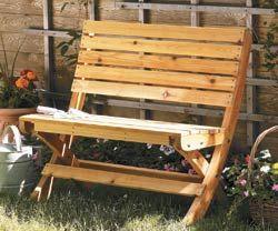 Online Extras Woodsmith Magazine Garden Bench Plans Garden