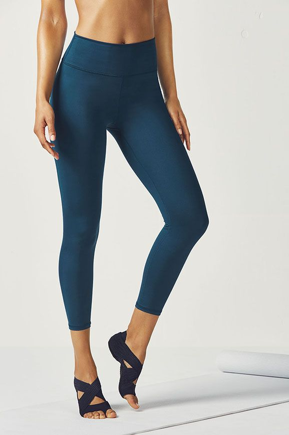1c649feb2f73dc Not quite a legging, not quite a capri, our 7/8 length is the perfect  silhouette for those who fall in between. Its high-rise waist with a power  mesh lining ...