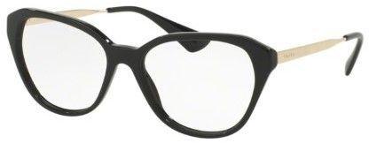249eaef05ff Prada CINEMA PR28SV Eyeglass Frames 1AB1O1-54 - Black