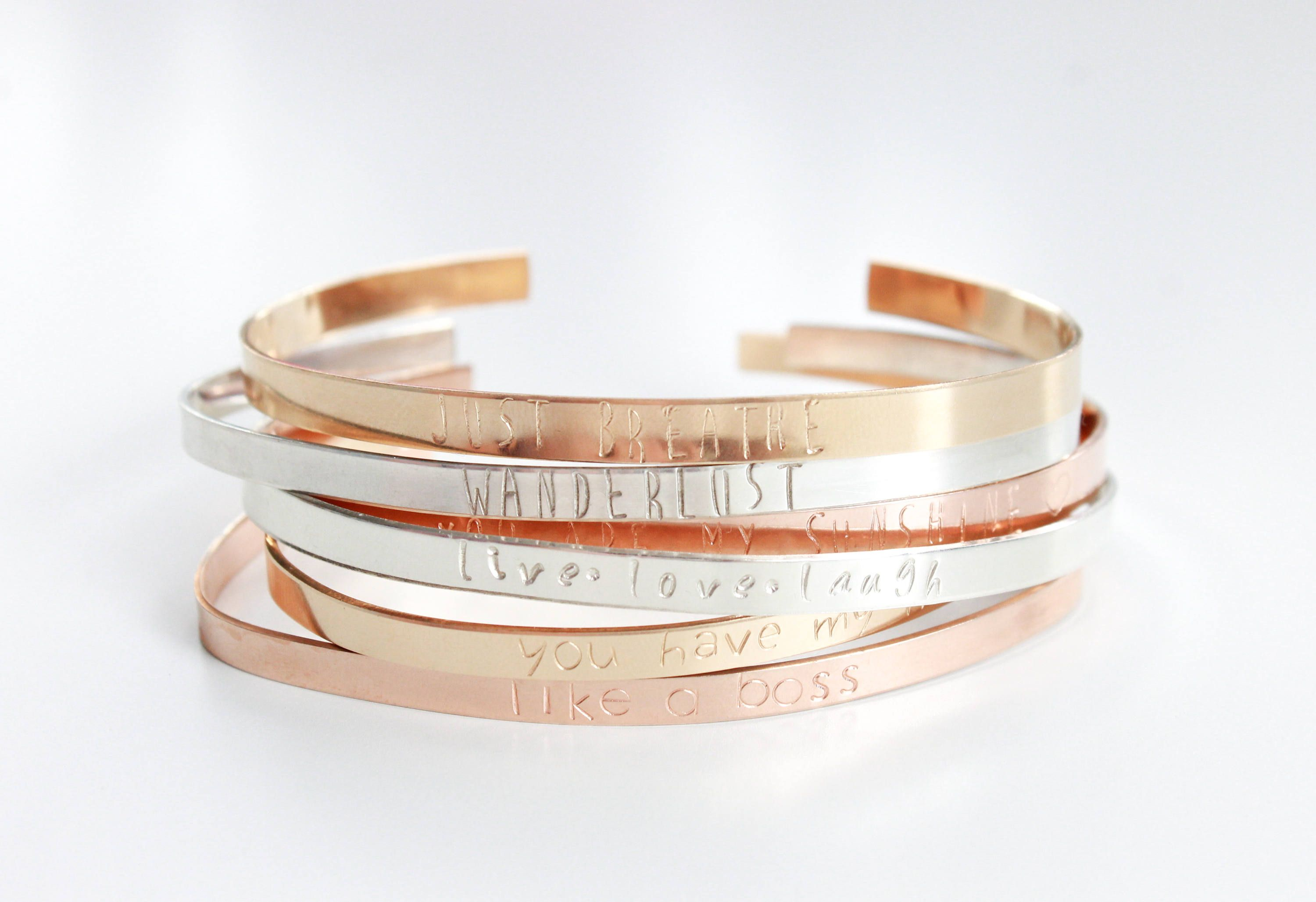 inspirational by bracelet com original silver look plated lovethelinks message product bangle back notonthehighstreet