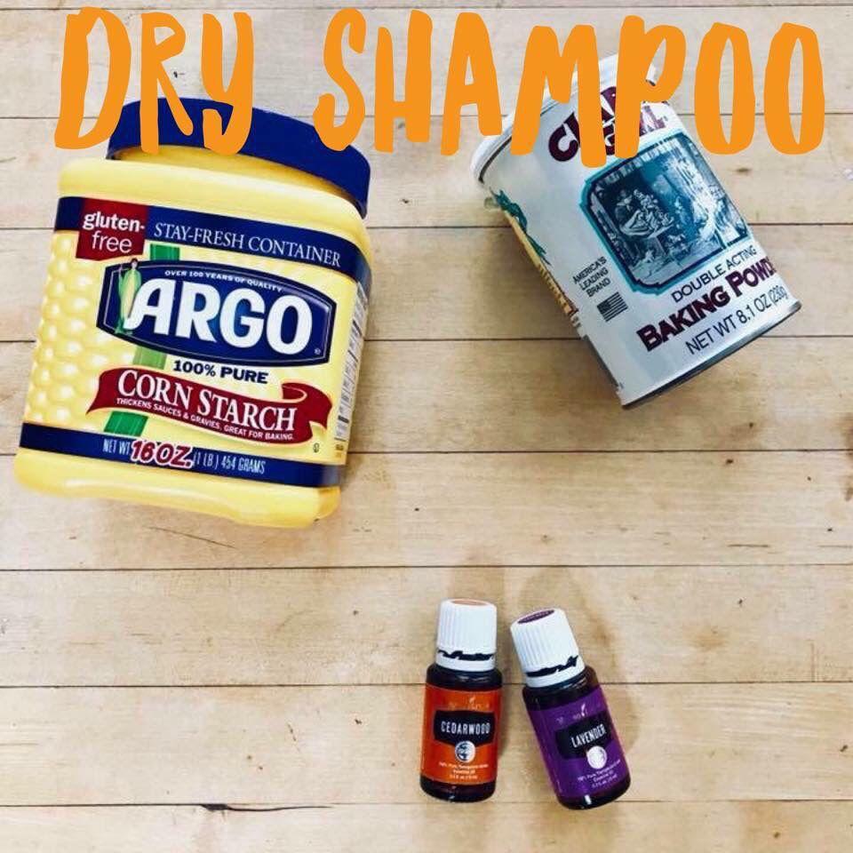cake dry shampoo powder