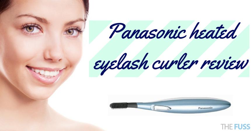 Panasonic Heated Eyelash Curler Review Thefuss Beauty